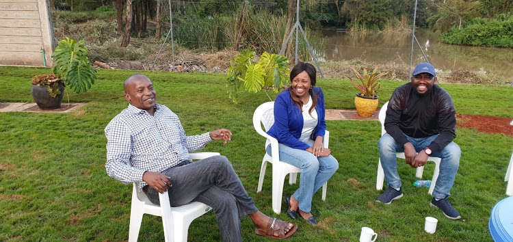 Former deputy speaker Kithure Kindiki, Nakuru senator Susan Kihika and Elgeyo Marakwet senator Kipchumba Murkomen