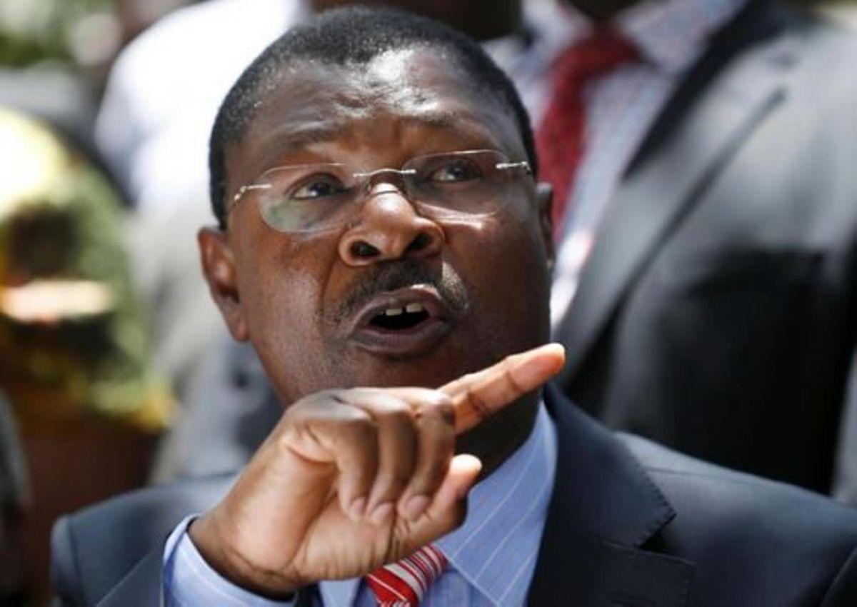 Ford Kenya Party Leader Moses Wetangula