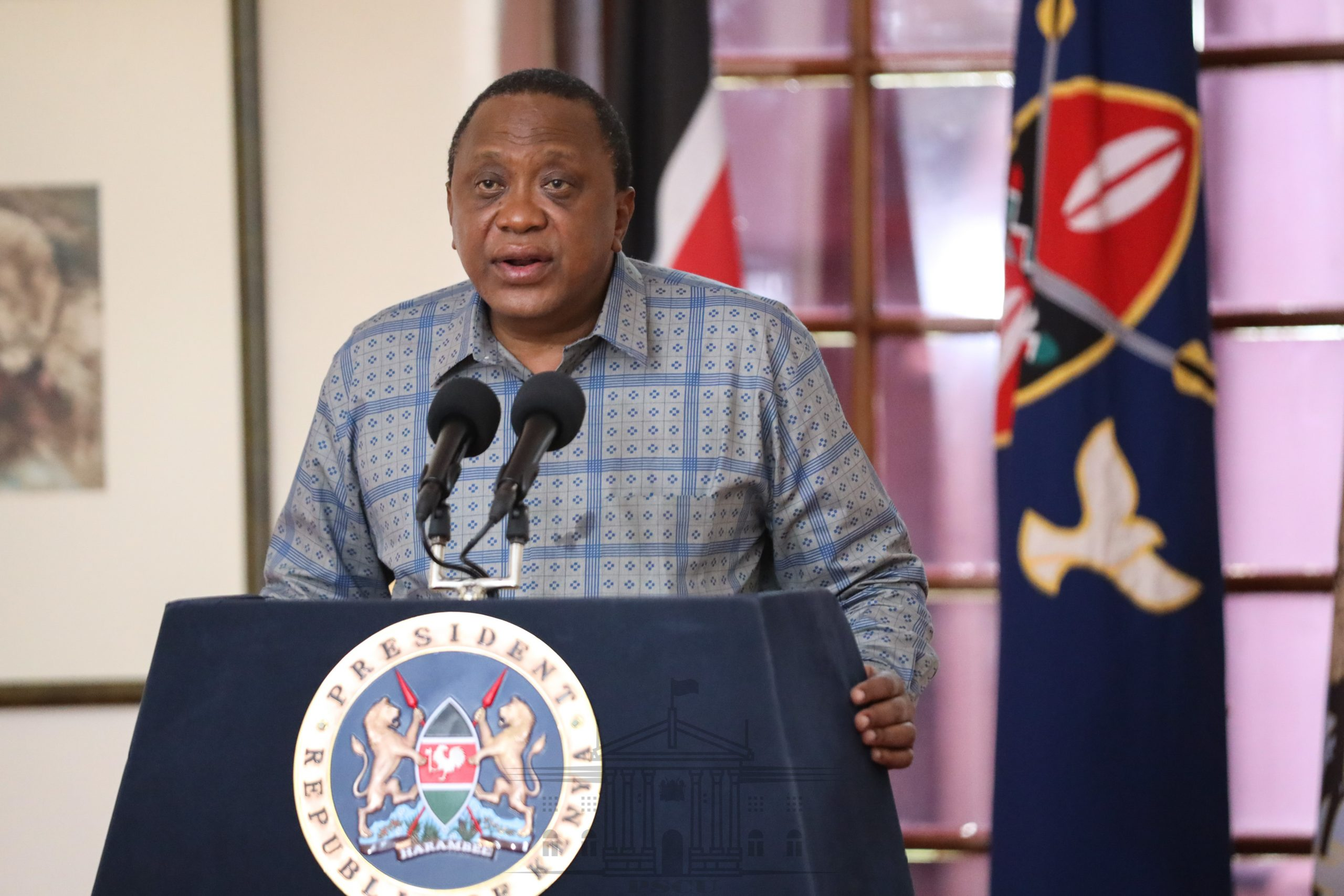 How Kenyans Reacted After President Uhuru Re-Introduced Lockdown