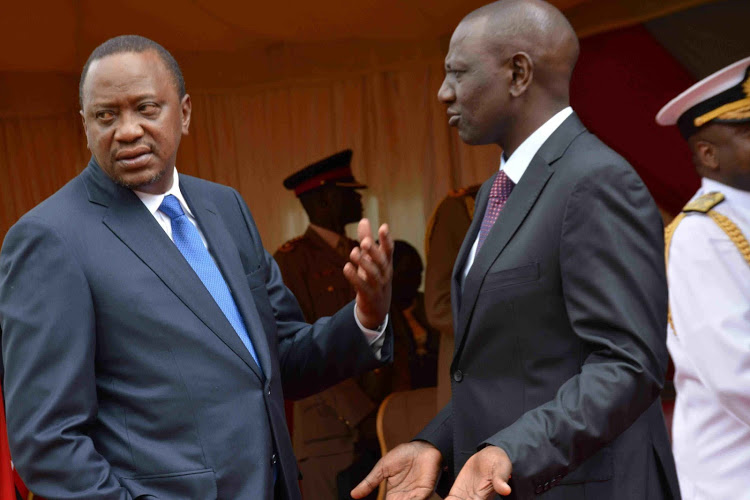 Ruto Vows To Stick With Uhuru For Better Or For Worse