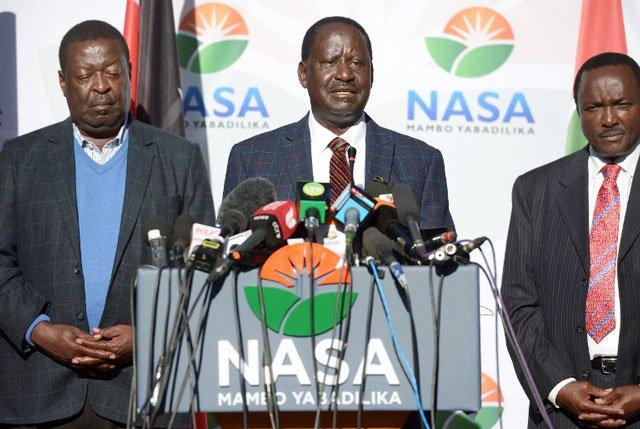 Raila foot soldiers Unleash Grenades On Kalonzo, Mudavadi