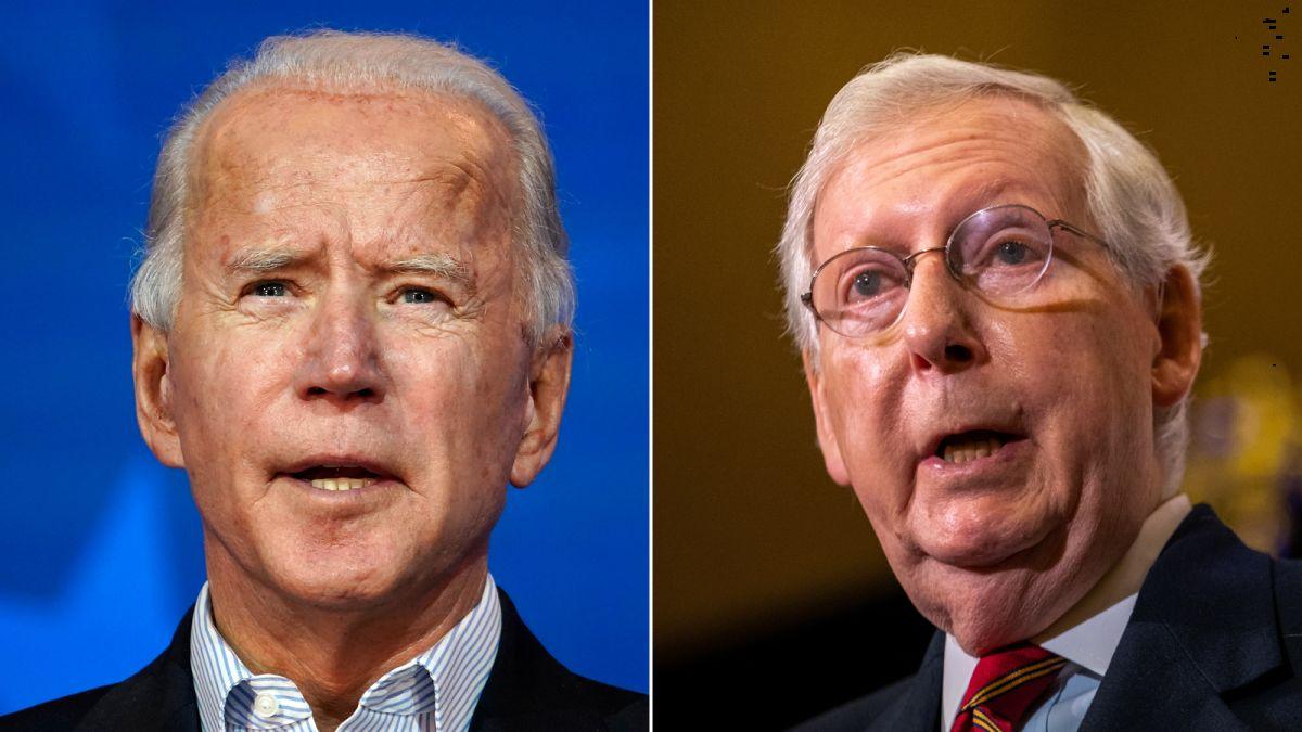 Mitch McConnell Already Giving President Biden Headache