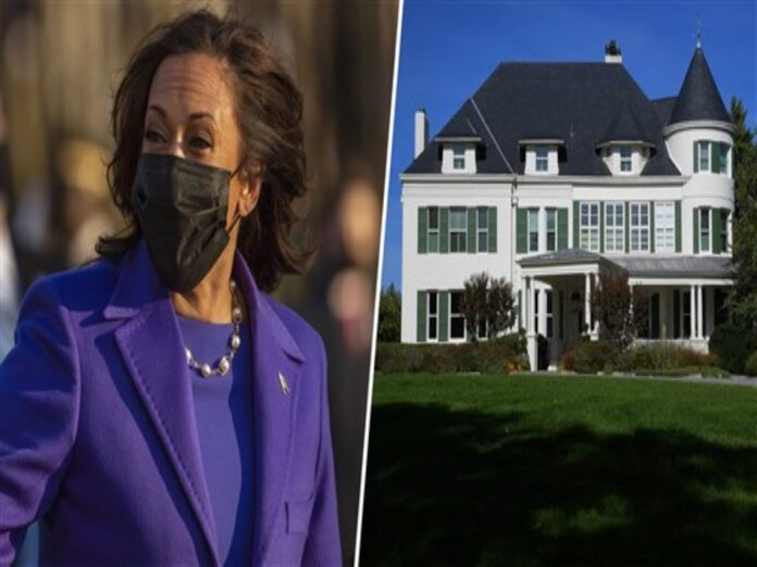 Kamala Harris is yet to occupy the vice presidential residence