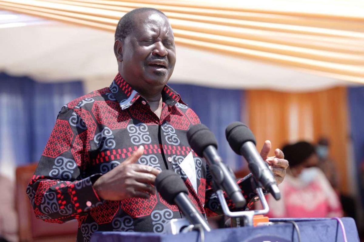 Raila Is Back, Demands That BBI Must Go Through A Referendum
