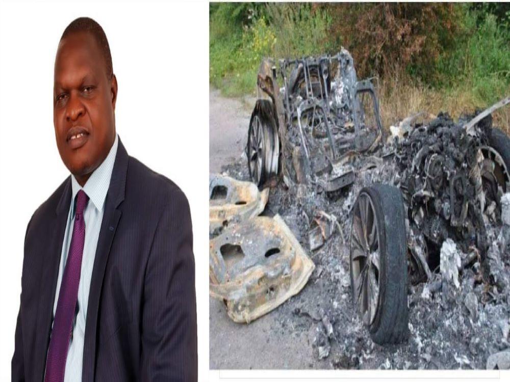 Three Suspected BodaBoda Men Arrested For Burning Joash Maangi's Vehicle