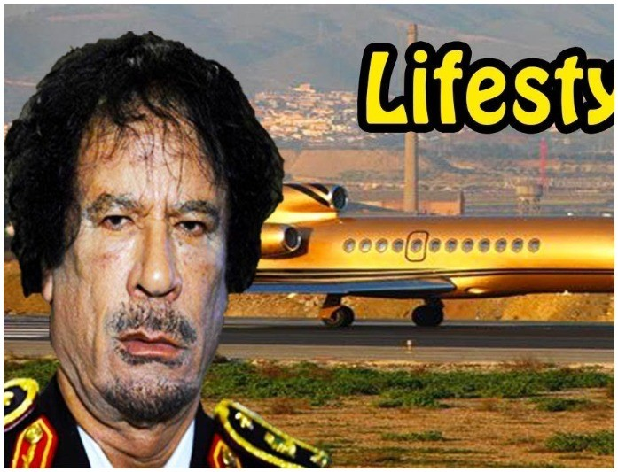 Gaddafi Jet Which Has Hot tub, Cinema, Bedroom Grounded In France