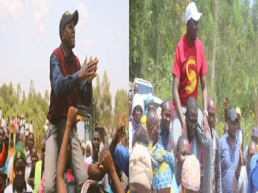 Khalwale And Sudi Brag Of Heroes' Reception After Being Carried On Shoulders Across The Village