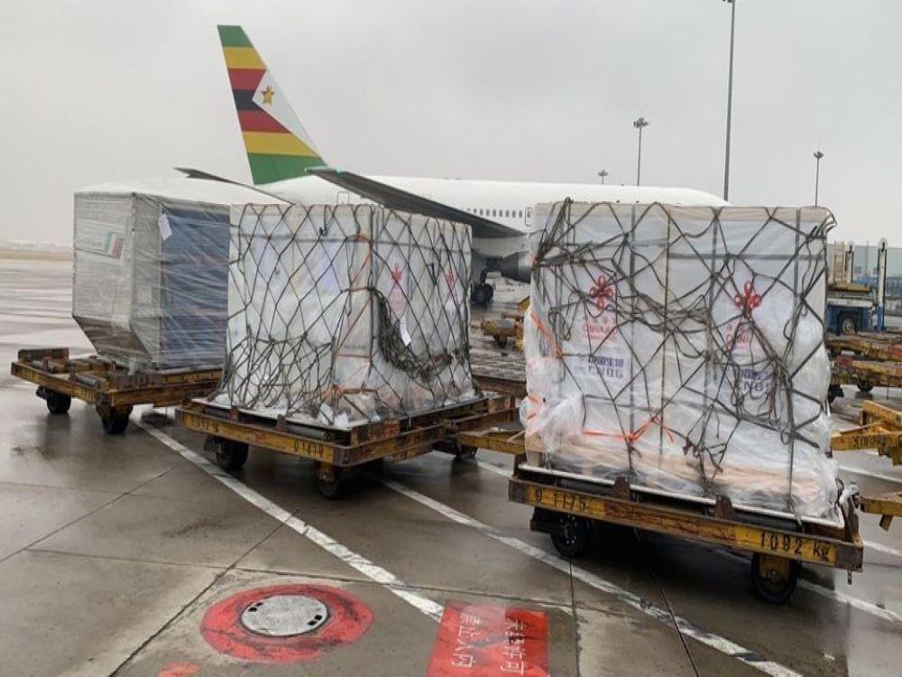 Zimbabwe Receives First Batch Of Coronavirus Vaccines From China