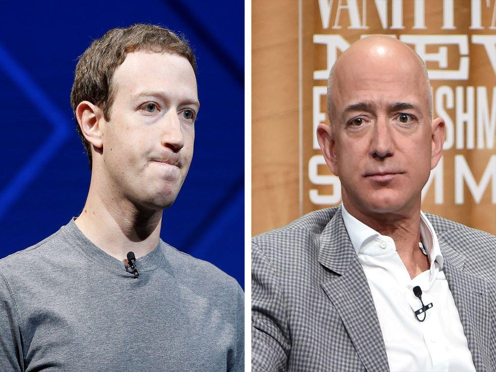 Zuckerberg, the last man standing after Bezos resignation
