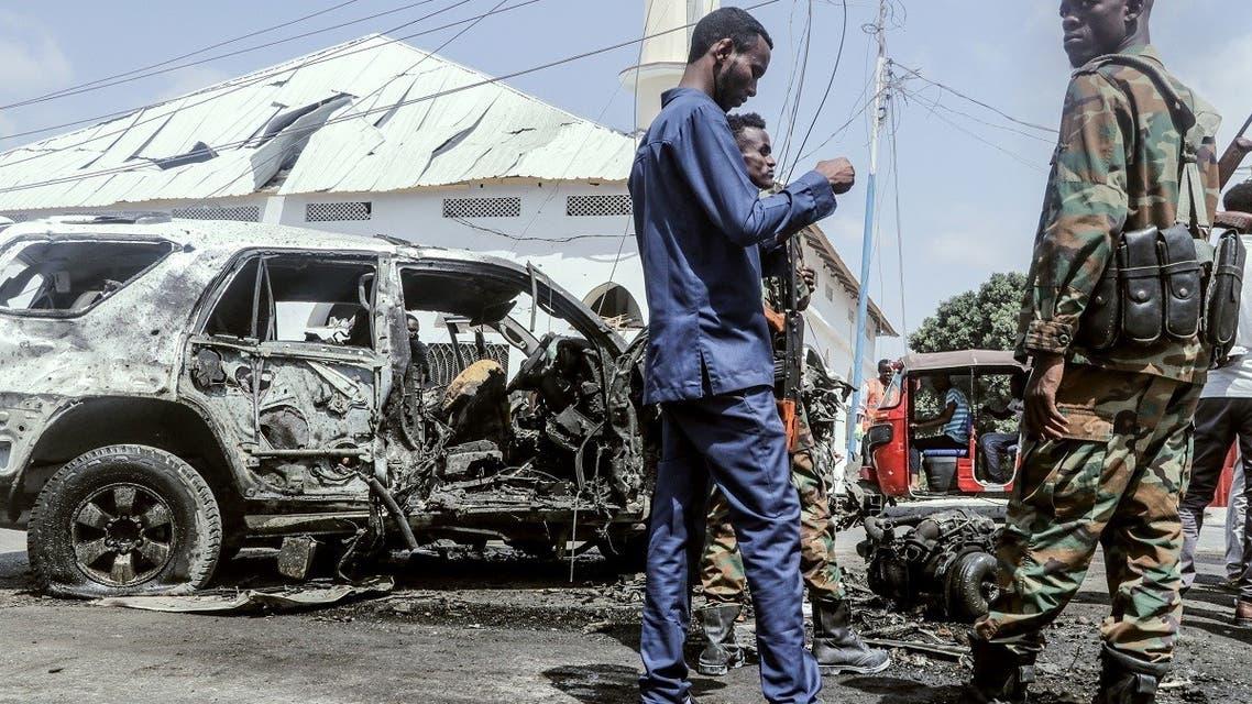Car Bomb Kills More Than 20 People In Mogadishu, Somalia