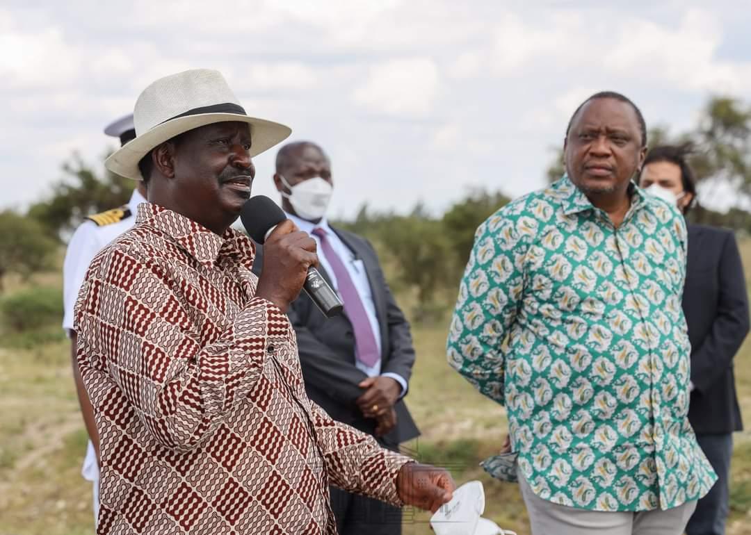 President Uhuru Desperately Looking For Raila After Oparanya Met Deputy President William Ruto