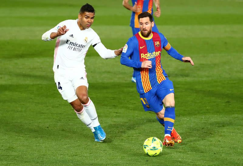 Ruthless Real Madrid Crushes FC Barcelona To Top Liga Table