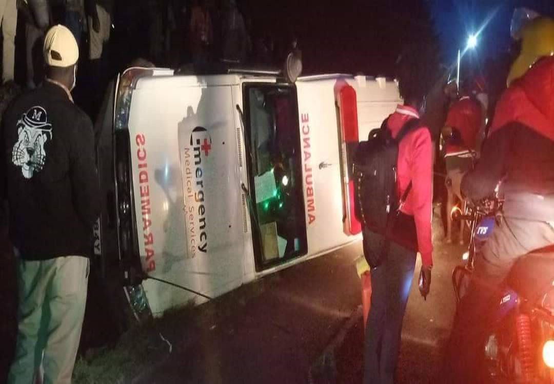 Drunk Kenya Red Cross Ambulance Driver Crashes With Patients In Kabarnet