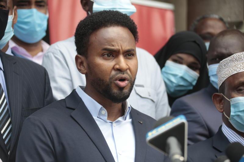 Abdulkadir Mohamed, Son To The Late Yusuf Haji Declared Garissa Senator Unopposed