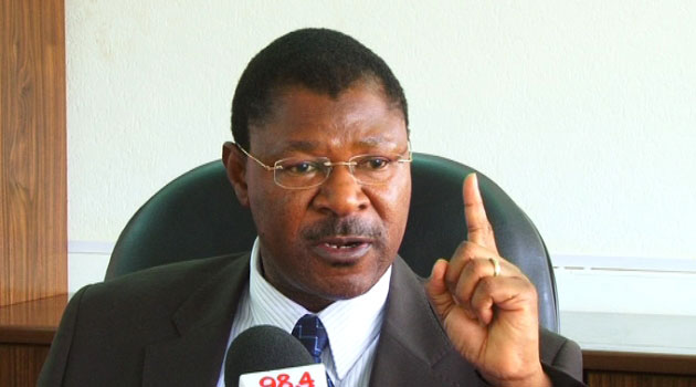 Revealed: Wetangula Has Dismissed BBI As Nonsense And Unconstitutional