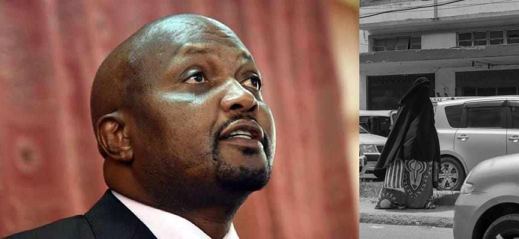 Moses Kuria Reveals Why He Wears Buibui To Campaign In Juja Constituency