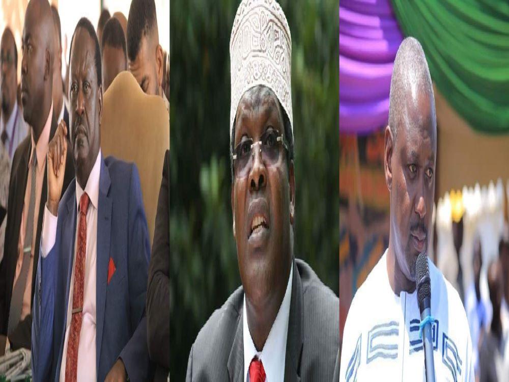 Miguna Miguna Badly Ashames Raila For Mistreating Otiende Amollo