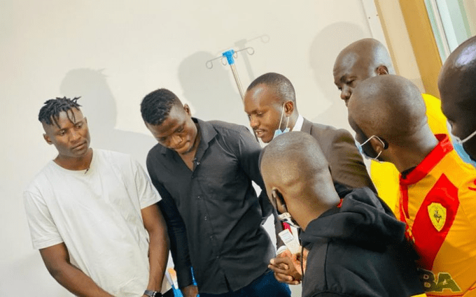 Michael Olunga Clears A Huge Medical Bill For Kenyan Goalkeeper Patrick Matasi