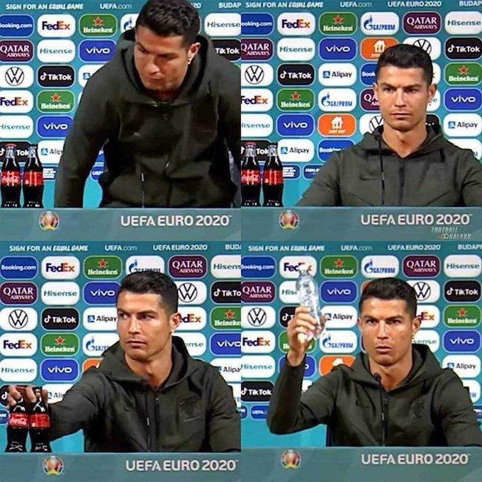 Coca-Cola Record A Massive Loss After Cristiano Ronaldo Snubbed The Drink