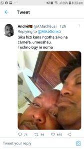 Sonko Shebesh Nudes Resurface After Mocking Mukhisa Kituyi