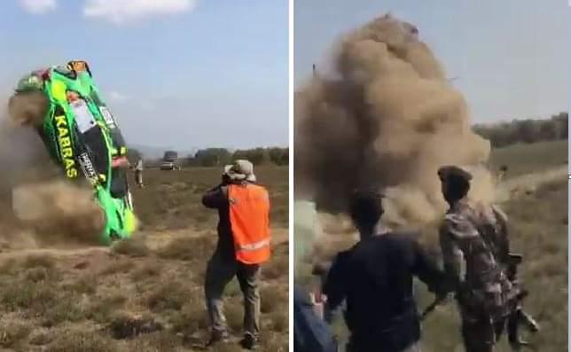 Tycoon's Son Tejveer Rai Of Kabras Sugar Crashes At The Naivasha Safari Rally