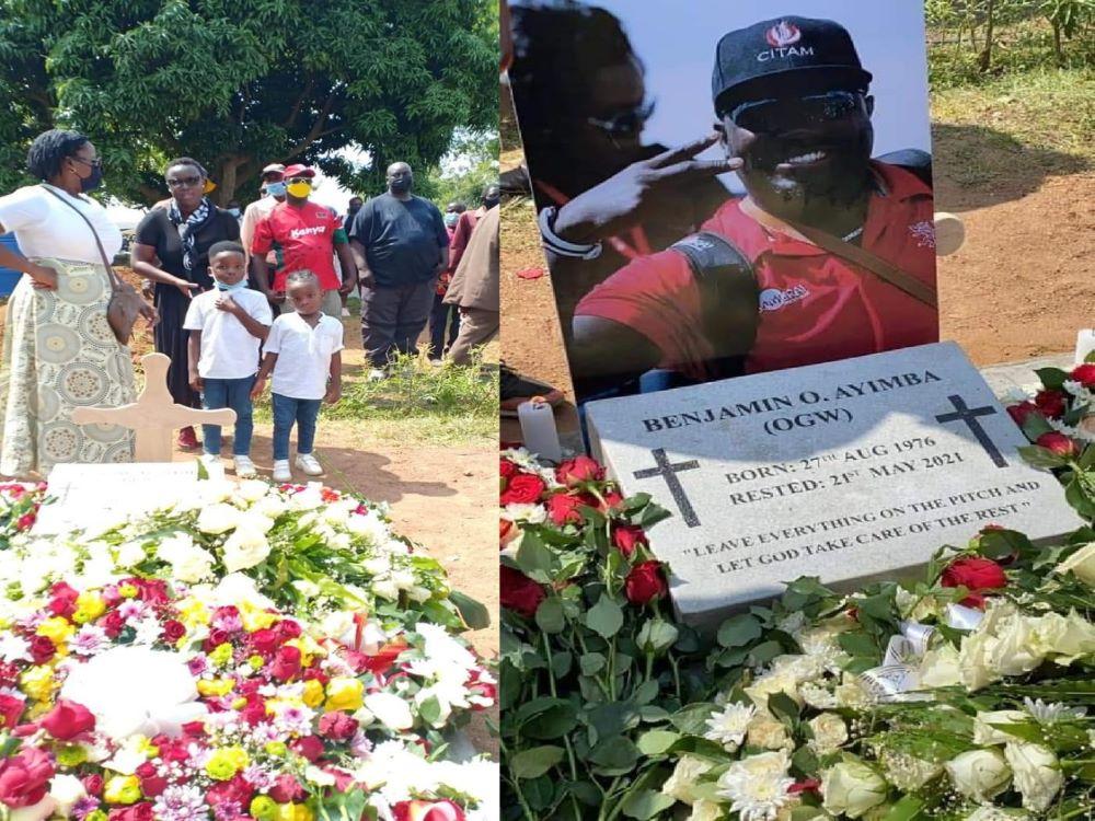 Benjamin Ayimba's Sisters Chase His Kids From Graveside Like Chokoraas