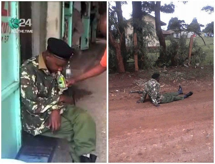 Party After Party As 6 Police Officers Are Arrested Drinking Past Curfew Hours In Kisumu