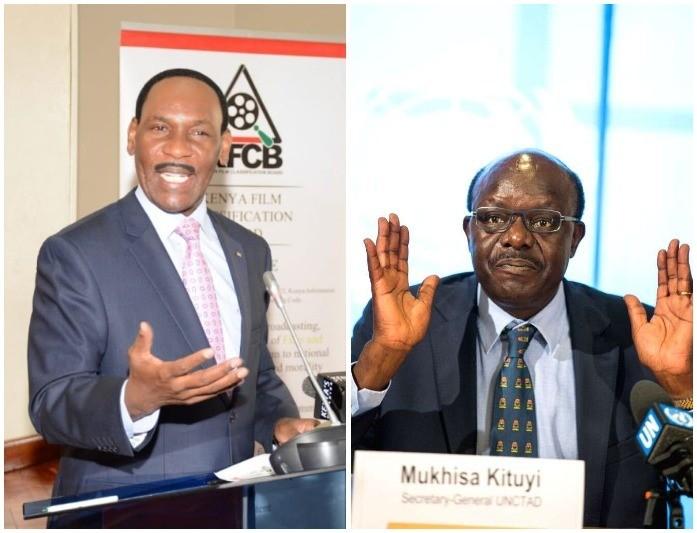 Ezekiel Mutua Comes To The Rescue Of Mukhisa Kituyi After Nudes Leak
