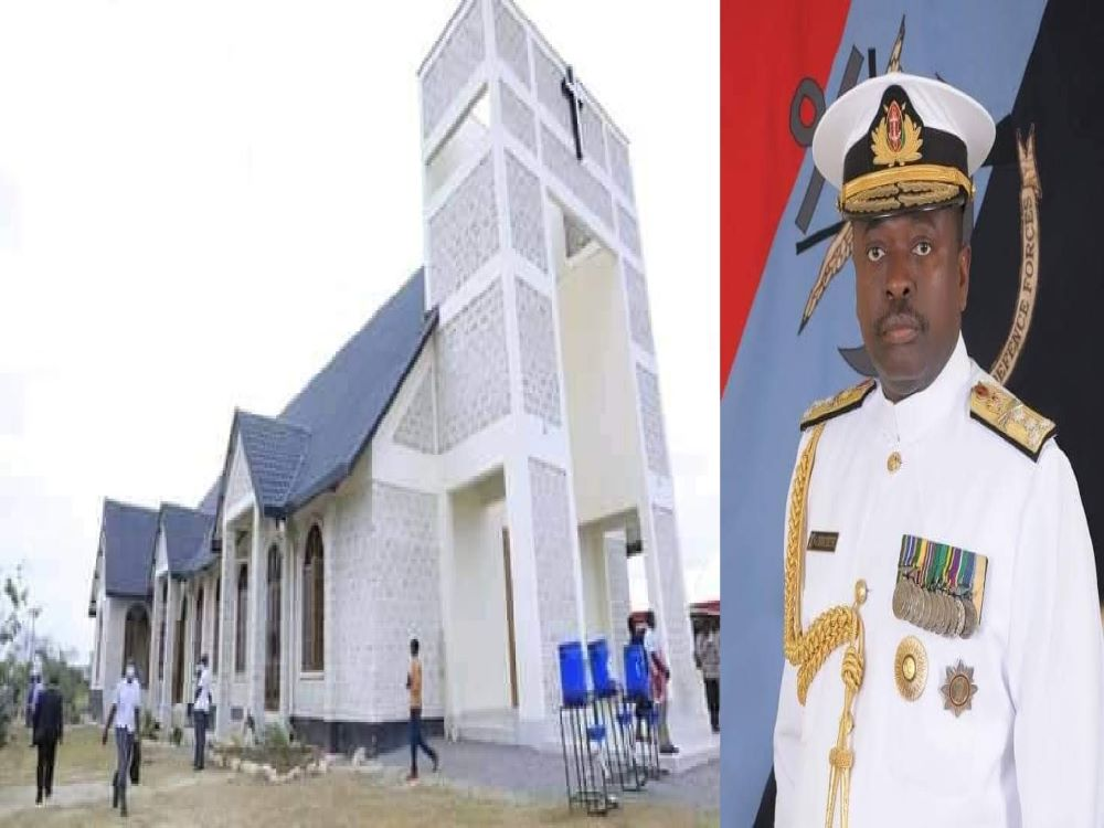 Shocking Amount General Mwathethe Spent To Build His Expensive Church