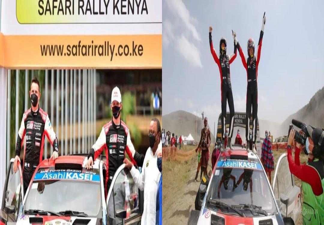 Subaru Boys Disappointed After Sebastien Ogier Of Toyota Auris Wins The WRC Safari Rally