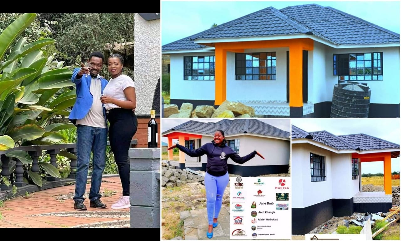 Omosh Rubbishes Claims From Kenyans That He Will Sell The New House