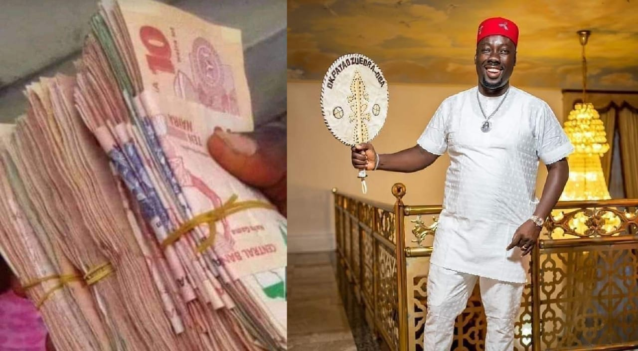 Obi Cubana Vows To Make More Money After Spoiling Mourners On Mum's Burial