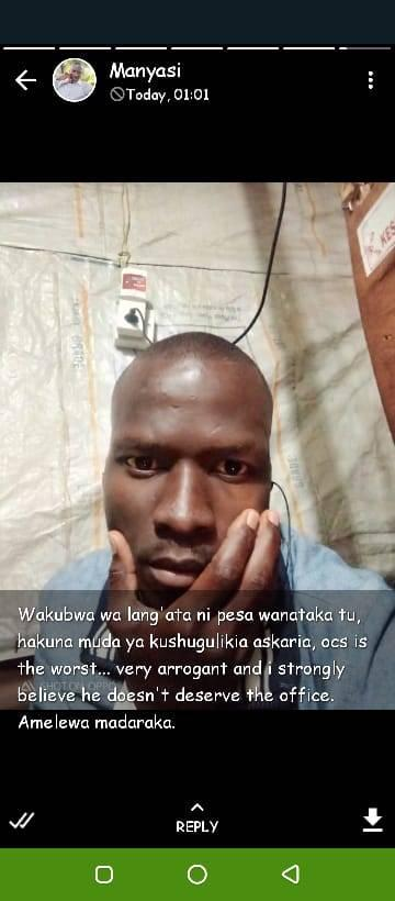 Suicidal Langata Police Officer