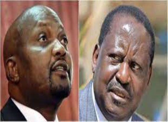 Raila Will Only See Statehouse In Viusasa-Moses Kuria