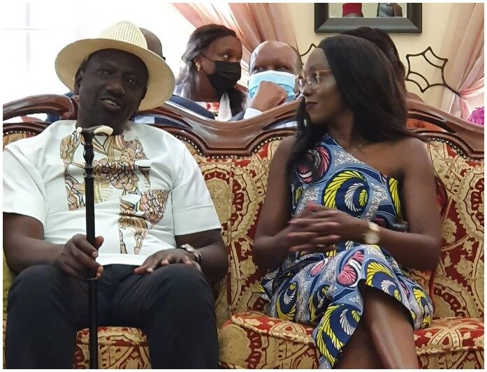 Ruto's Daughter Forced To Pulls Down Controversial Post About Raila Odinga