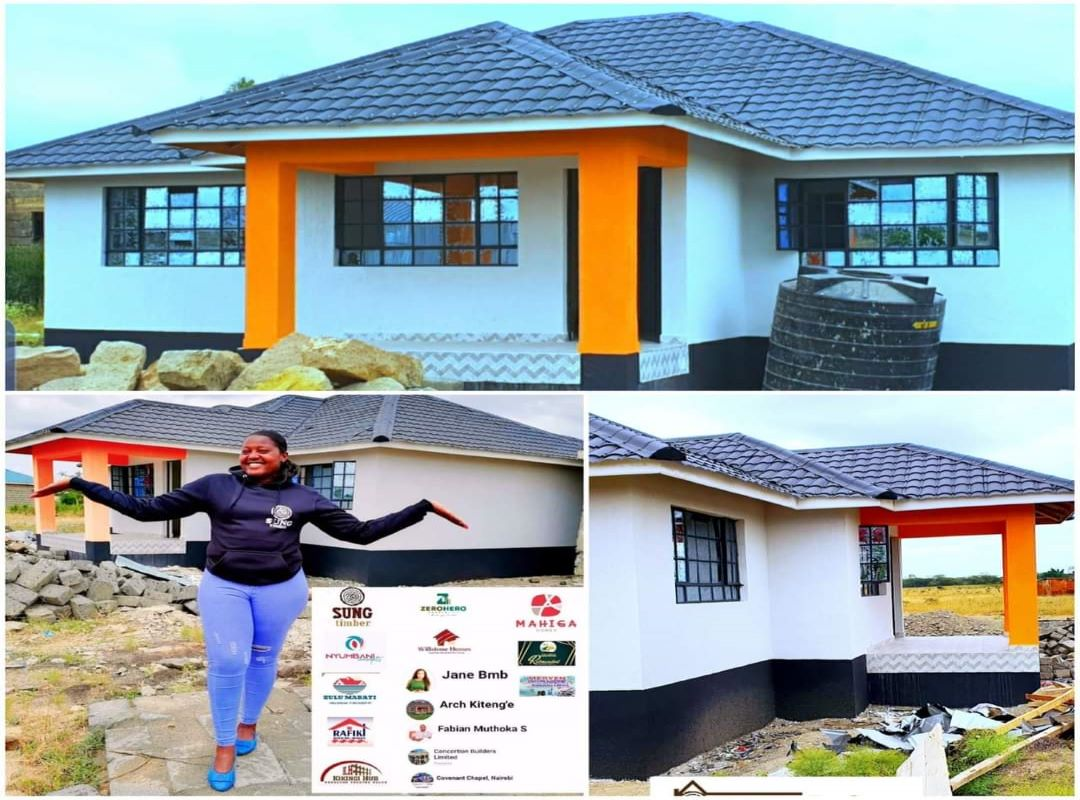 All Smiles For Omosh As His New House Is Complete