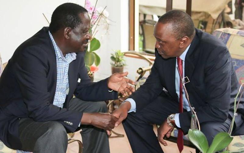 Raila Odinga Advices President Uhuru To Continue Taking Loans