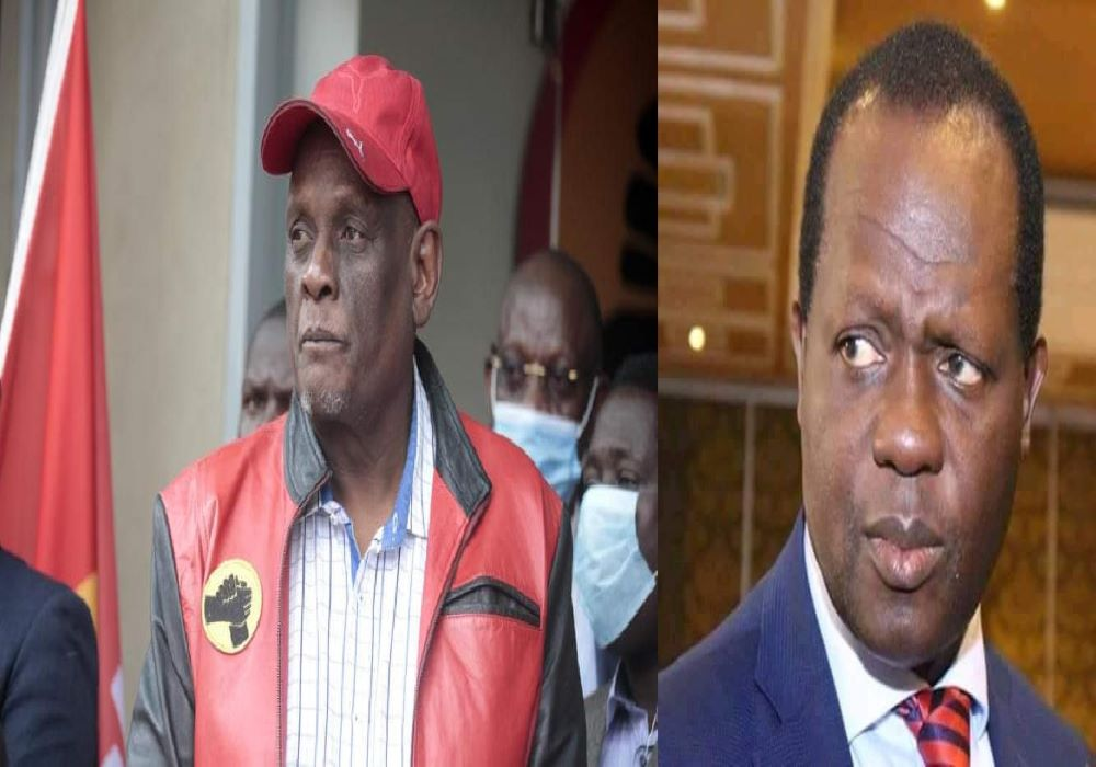 Murathe And Tuju To Be Chased Out Of Jubilee Anytime After The Kiambaa Loss