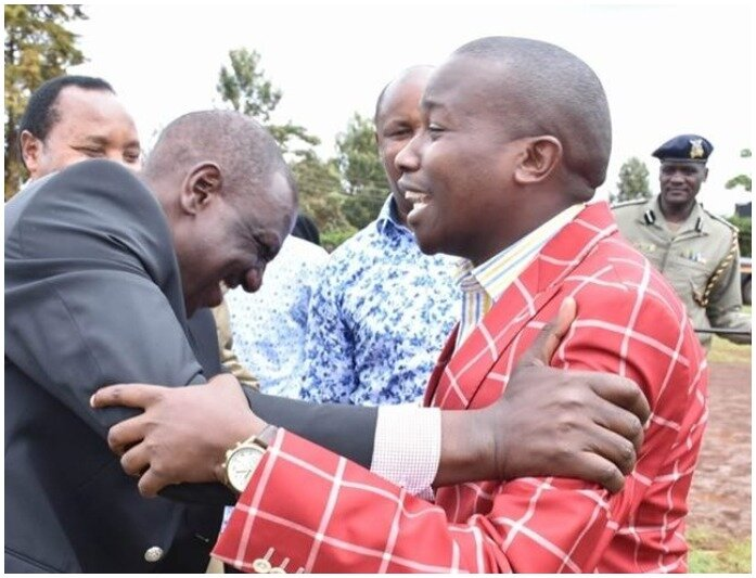 Kiambaa MP-Elect Njuguna Wanjiku Mocks President Uhuru